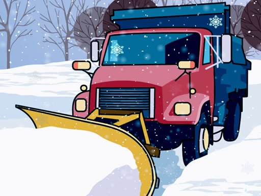 Hidden Snowflakes in Plow Trucks - Popular Games - Cool Math Games