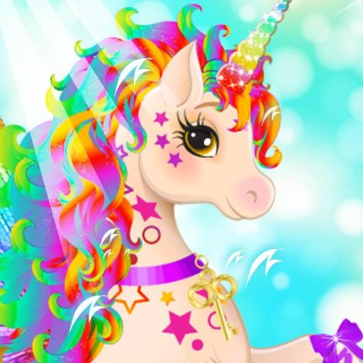 Unicorn For girls Dress up