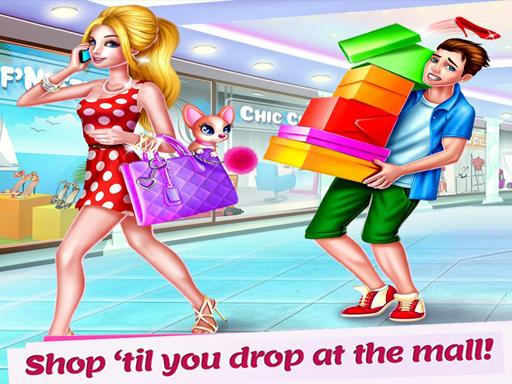 Shopping Mall For Rich Girls Supermarket Cashier