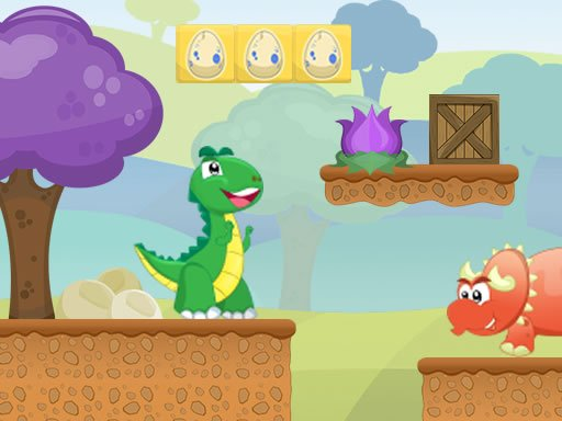 Play Little Dino Adventure Returns Online