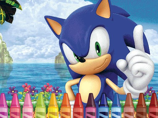 Sonic Coloring
