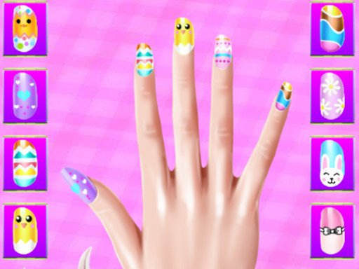 Play Easter Nails Design