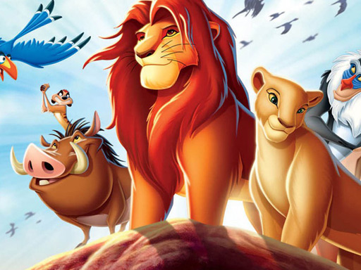 Play Lion King Slide