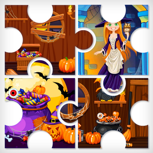 Witchs House Halloween Puzzles