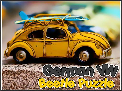 German VW Beetle Puzzle