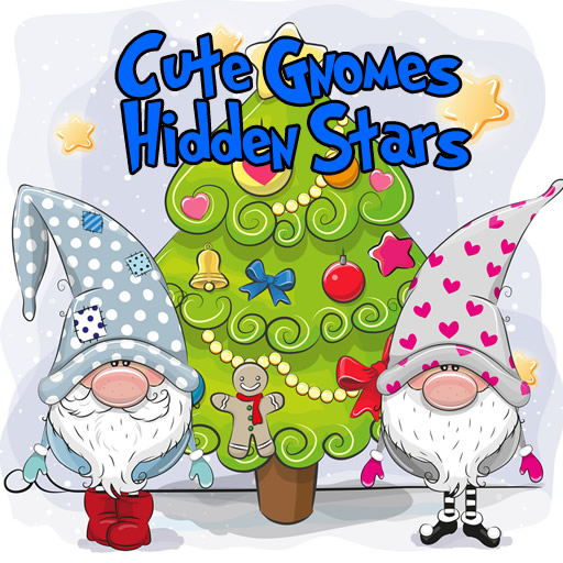 Cute Gnomes Hidden Stars
