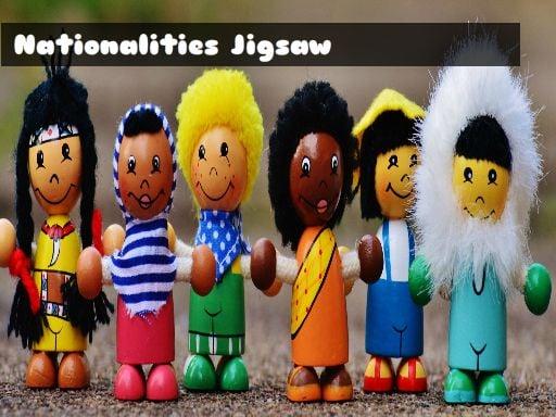 Nationalities Jigsaw