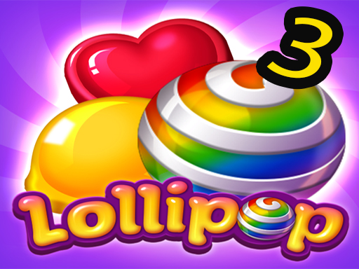 Play Lollipops Candy Blast Mania - Match 3 Puzzle Game