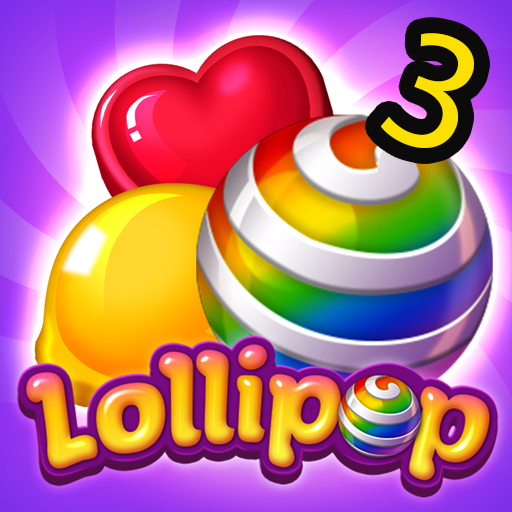 Lollipops Candy Blast Mania - Match 3 Puzzle Game