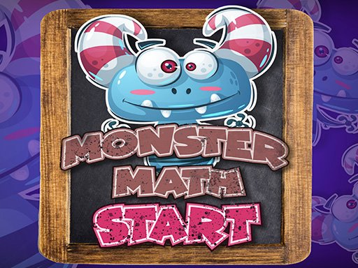 Monster Math Multiply 1-10