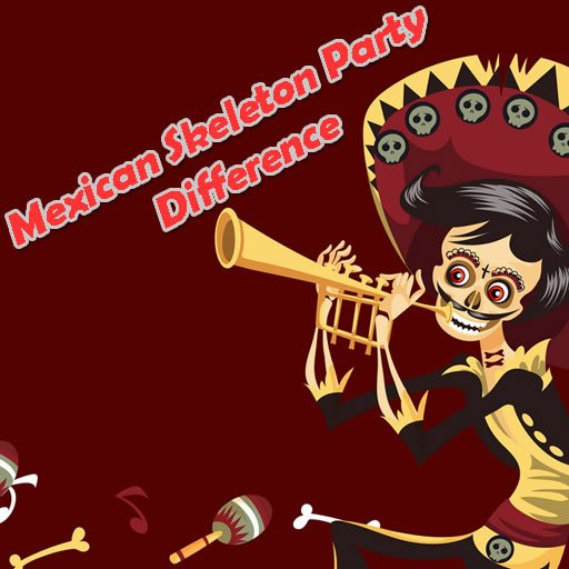 Mexican Skeleton Party Difference