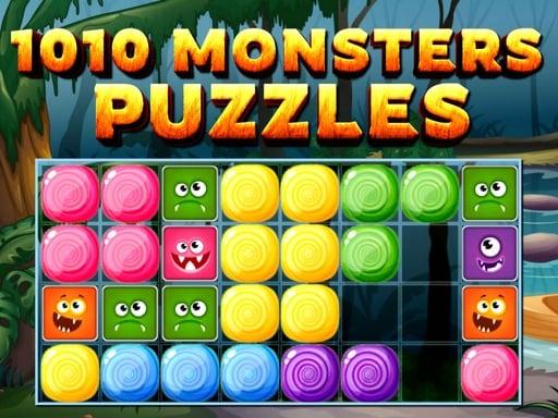 1010 головоломок с монстрами