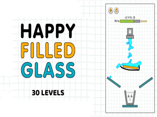 Happy Filled Glass: онлайн