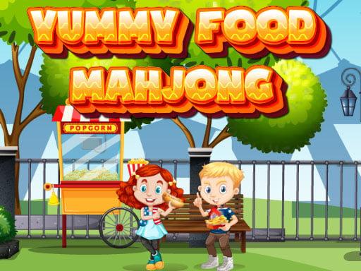 Вкусная еда Маджонг