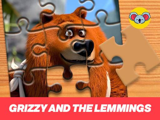 Планета пазлов Гриззи и лемминги