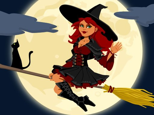 Play Midnight Witches Jigsaw
