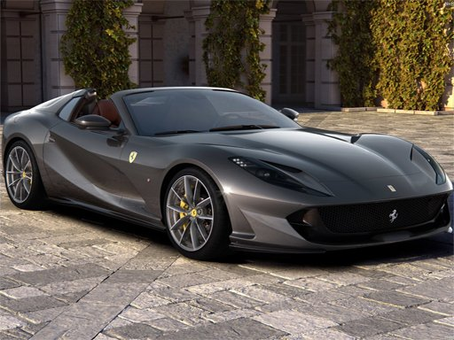 Ferrari 812 GTS Puzzle - New Games - Cool Math Games