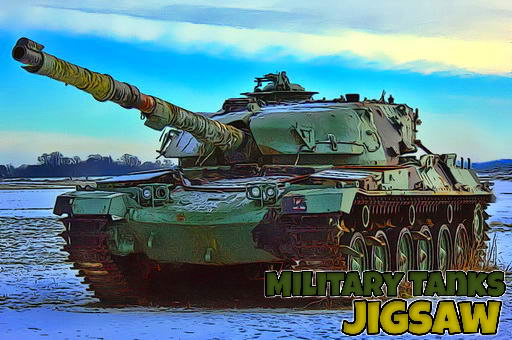 Military Tanks Jigsaw