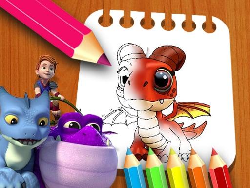 Dragon Rescue Riders Coloring Book