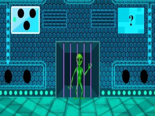 Зеленый инопланетный побег