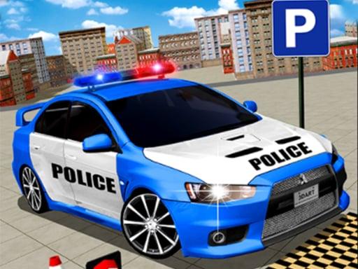 Modern Police Car Parking 3D