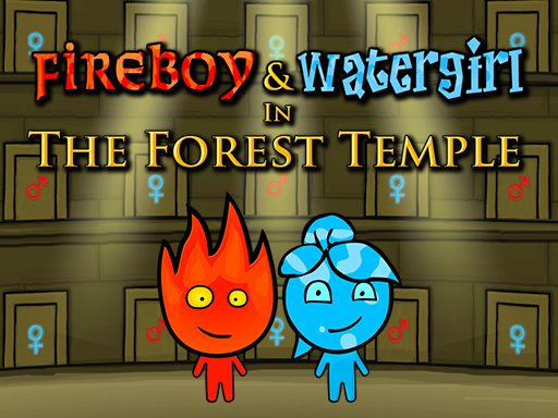 Fireboy and Watergirl: Forest Temple Game