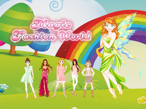 Magic Fashion World - Popular Games - Cool Math Games