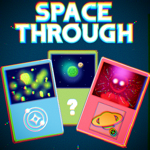 Space Through -Card Clicker Game