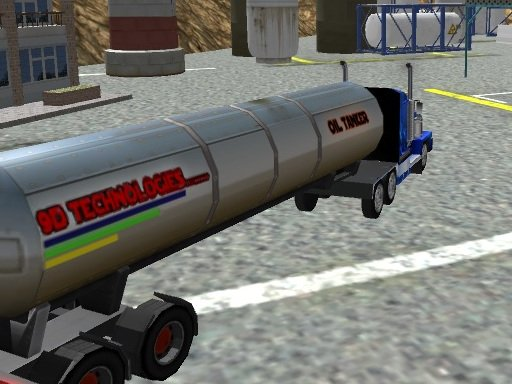 Oil Tanker Transporter Truck - Popular Games - Cool Math Games