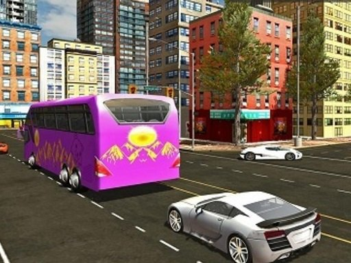 City Bus Offroad Driving Sim - Popular Games - Cool Math Games