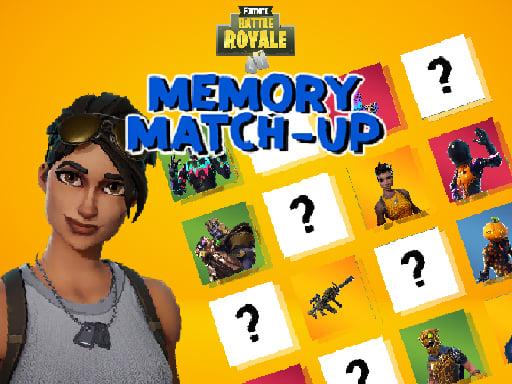 Fortnite Memory Match Up