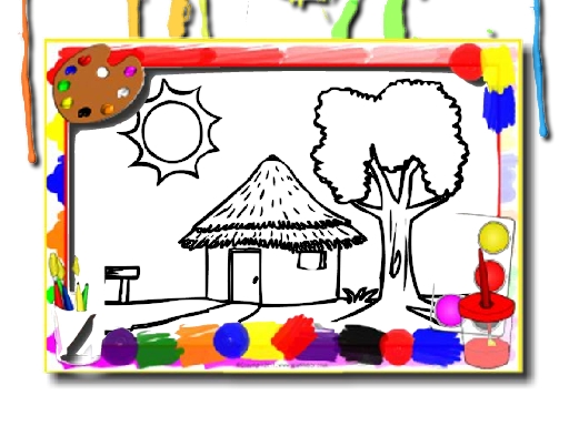 House Coloring Book - New Games - Cool Math Games