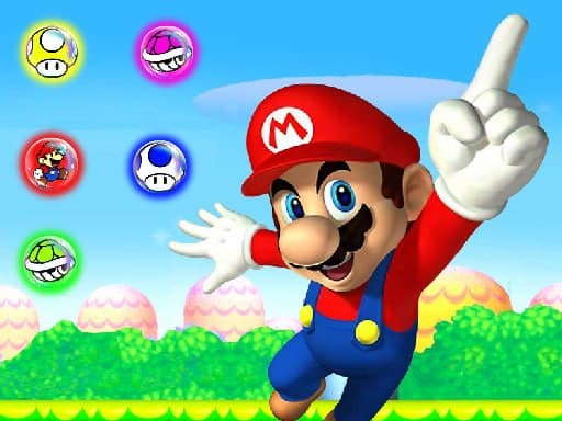 Супер Марио Три в ряд: головоломка