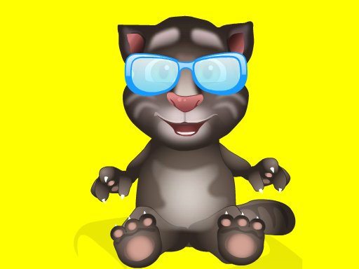 Baby Talking Tom Eye Doctor