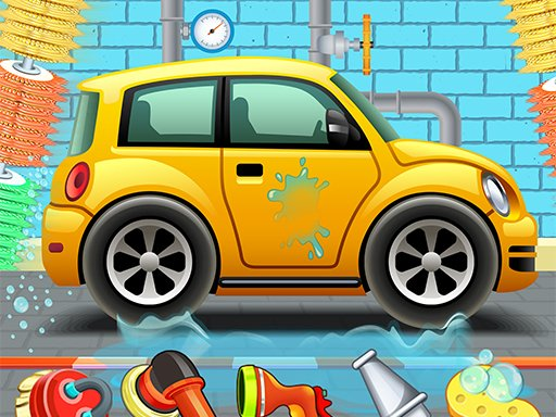 Play Kids Car Wash Service Auto Workshop Garage Online