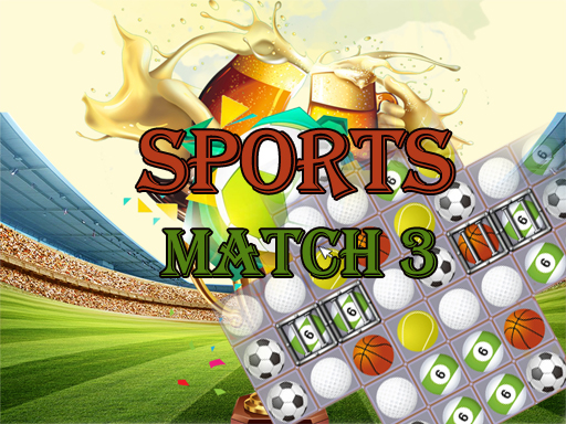 Play Sports Match 3 Deluxe Online