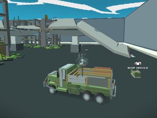 Pixel Vehicle Warfare