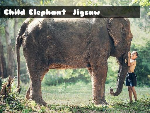 Child Elephant Jigsaw