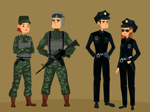 Play Military Soldiers War Jigsaw