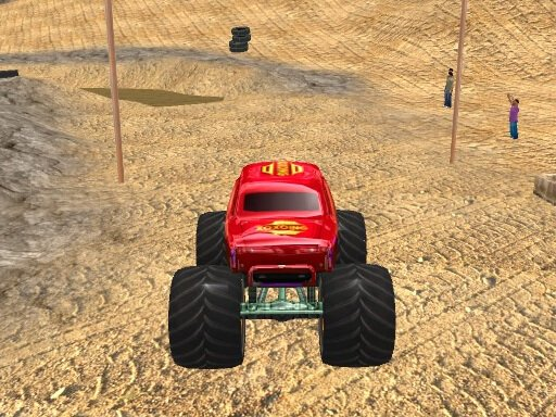 Monster Truck Rally - Popular Games - Cool Math Games
