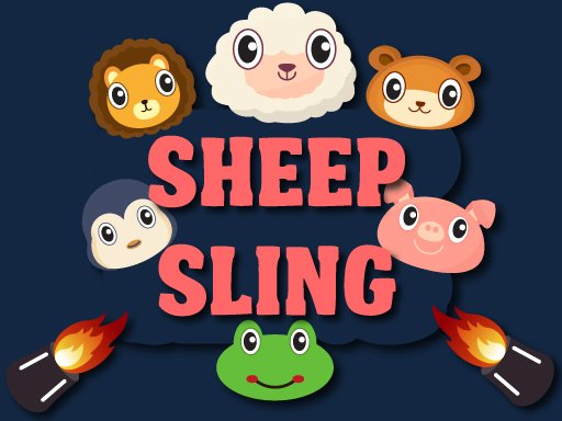 Sheep Sling - Popular Games - Cool Math Games