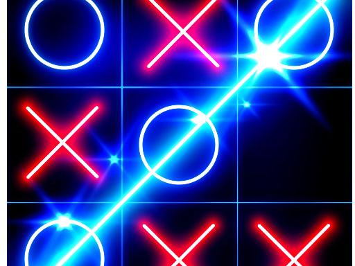 Tic Tac Toe Glow – Бесплатная игра-головоломка