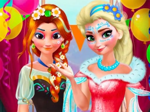 Ice Queen - Beauty Dress Up Games