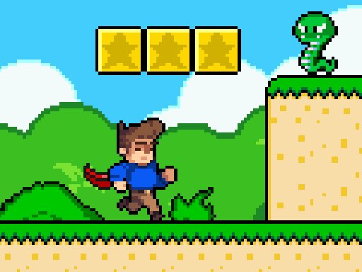 Play Super Steve World Online