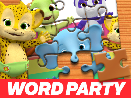 Play Word Party Jigsaw Puzzle
