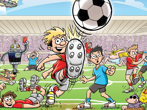 Play Football Slide Puzzle