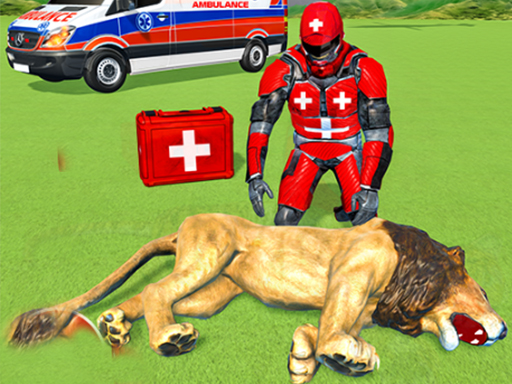Animals Rescue Game Doctor Robot 3D