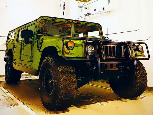 Play U.S.Army SUV Vehicles Online