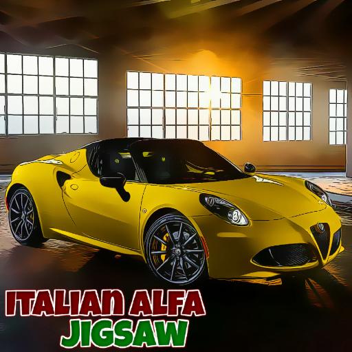 Italian Alfa Jigsaw