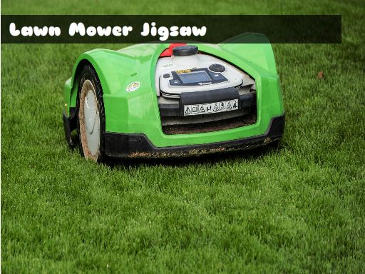 Play Lawn Mower Jigsaw